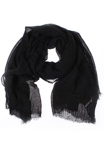 american et vintage foulards femme de couleur noir