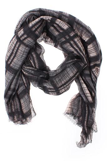 beck et sondergaard foulards femme de couleur gris