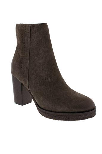 lieberskind boots femme de couleur gris