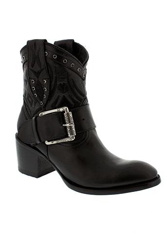 mexicana boots femme de couleur noir