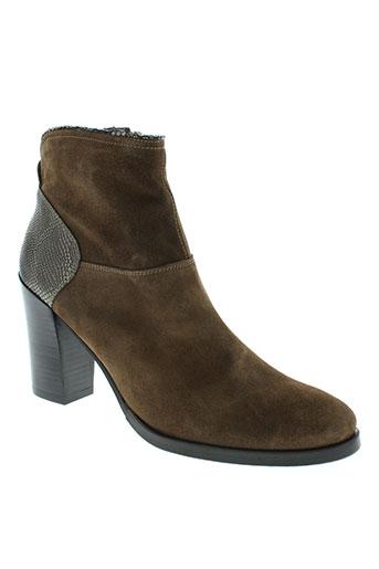 kanna boots femme de couleur marron