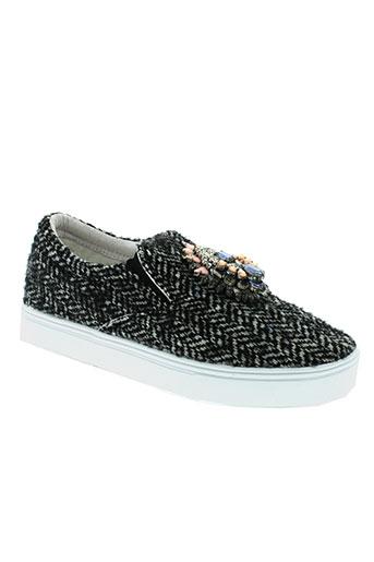 manoush chaussures femme de couleur noir
