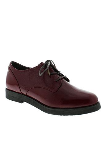 esska chaussures femme de couleur rouge