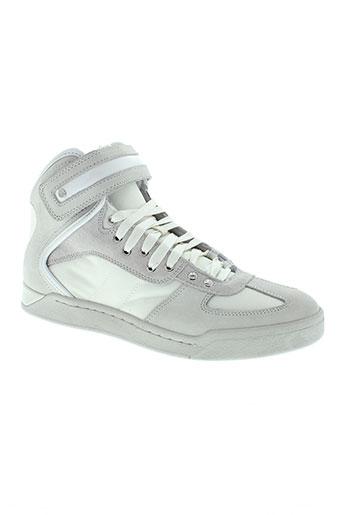 diesel baskets homme de couleur blanc