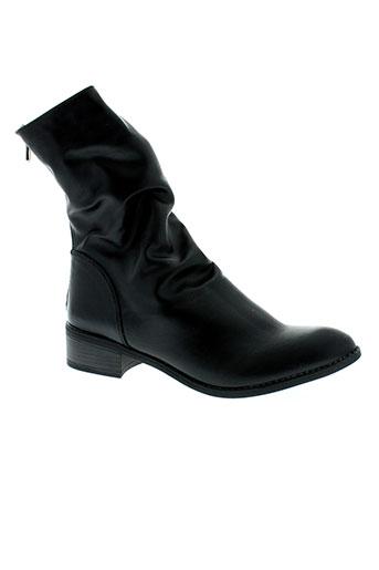 best et mountain boots femme de couleur noir