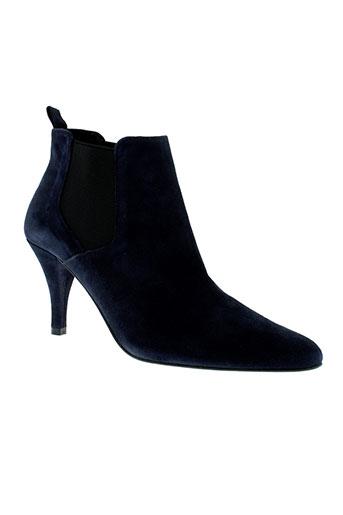 andy et by et semer boots femme de couleur bleu