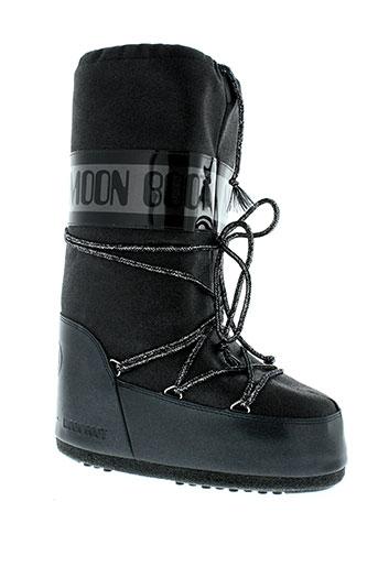 moon et boot bottes femme de couleur noir