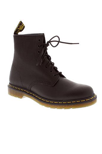 dr et martens boots homme de couleur noir