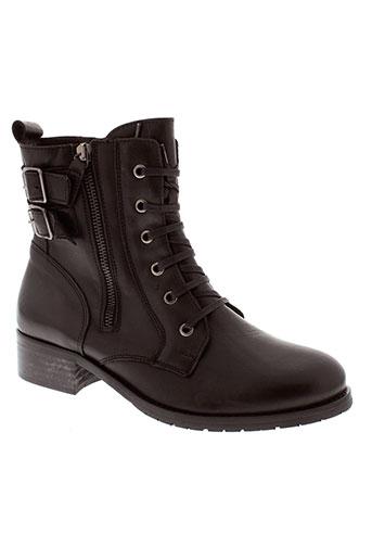 ikks boots femme de couleur noir