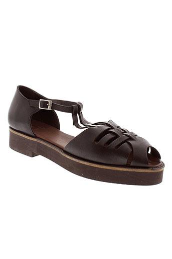 beatriz et furest sandales et nu et pieds femme de couleur noir