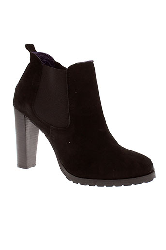 anaki chaussures femme de couleur noir