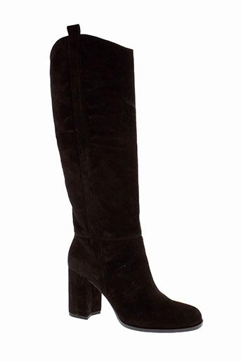 erin et adamson bottes femme de couleur noir