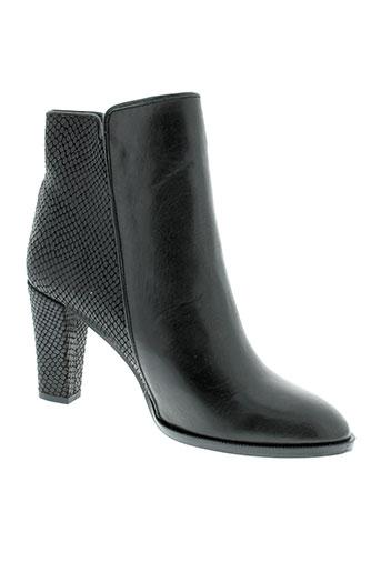 petite et mendigote boots femme de couleur noir