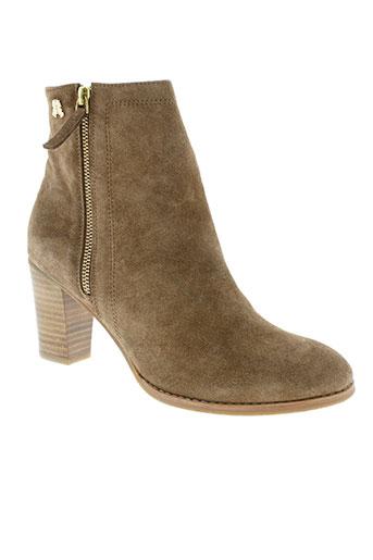 paul et joe boots femme de couleur marron