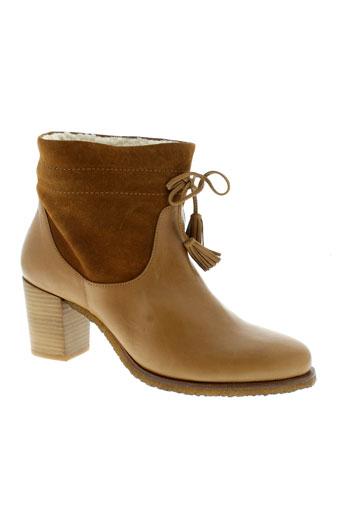 petite mendigote chaussures femme de couleur marron