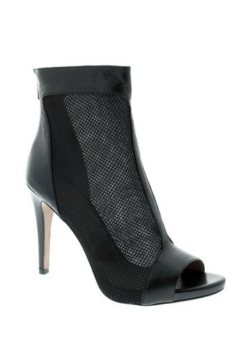 hoss bottines femme de couleur noir