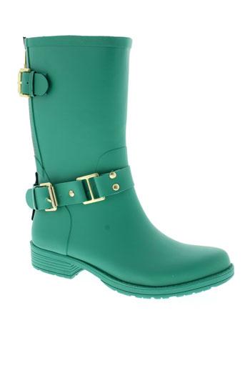 colors of california chaussures femme de couleur vert
