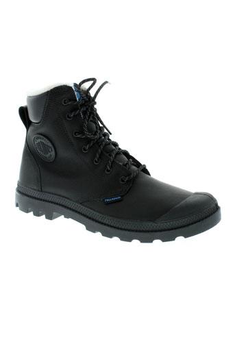 palladium boots homme de couleur noir