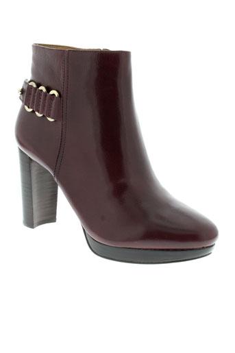 nine et west boots femme de couleur marron