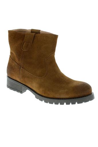 pieces boots homme de couleur marron