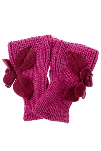 ganteb's accessoires femme de couleur rose