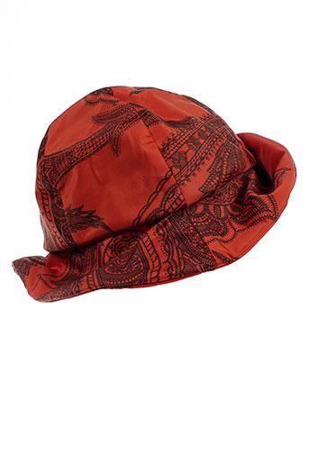 angiolo frasconi accessoires femme de couleur orange