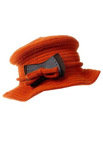 cheri bibi accessoires femme de couleur orange