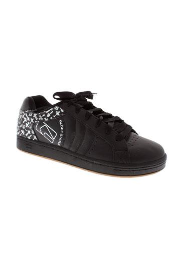 globe baskets homme de couleur noir
