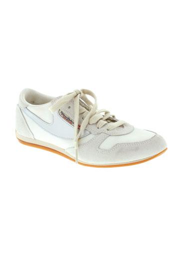 diesel baskets femme de couleur blanc