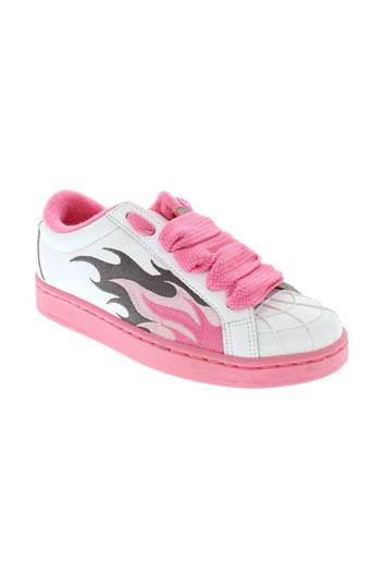 buffalo baskets femme de couleur rose