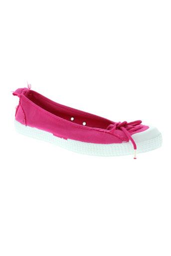 chipie chaussures femme de couleur rose