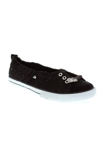 dvs chaussures femme de couleur noir
