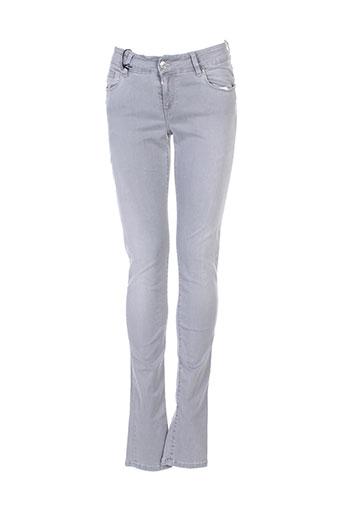 school et rag pantalons et decontractes femme de couleur gris