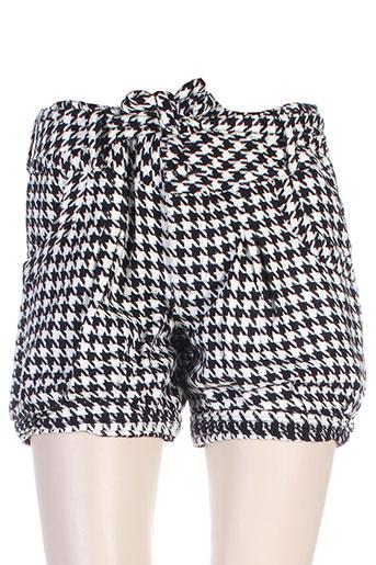 zoe la fee shorts / bermudas femme de couleur noir