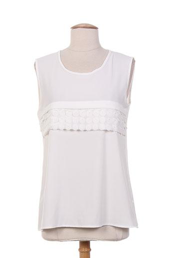 purplerose chemises femme de couleur blanc