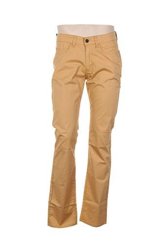 redman pantalons femme de couleur beige