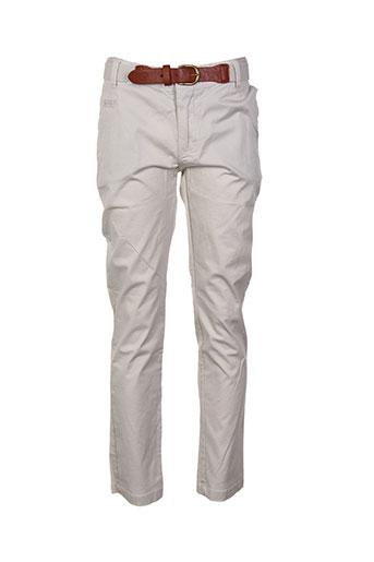 losan pantalons garçon de couleur beige