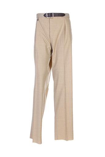 m.e.n.s pantalons homme de couleur beige
