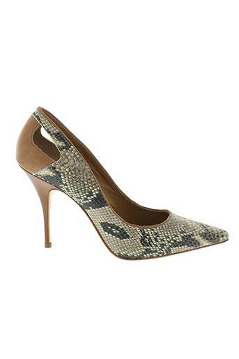 balmain chaussures femme de couleur gris