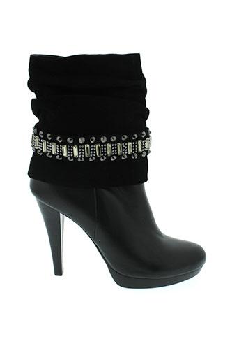 balmain chaussures femme de couleur noir