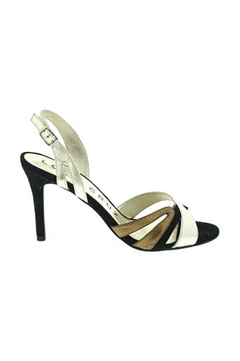 lola et cruz sandales et nu et pieds femme de couleur gris
