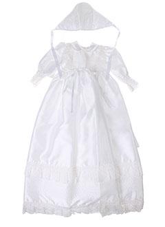 Robe mi-longue blanc BEABA pour fille