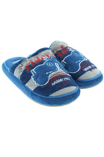 gioseppo et kids pantoufle garcon de couleur bleu