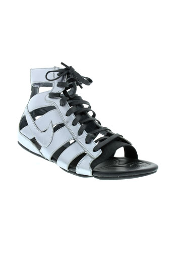 nike sandales et nu et pieds femme de couleur gris