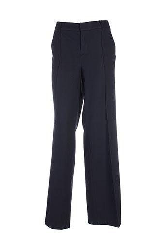 oui pantalons et citadins femme de couleur bleu