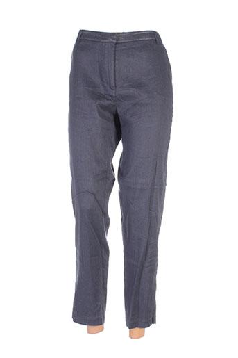 eva kayan pantalons femme de couleur gris
