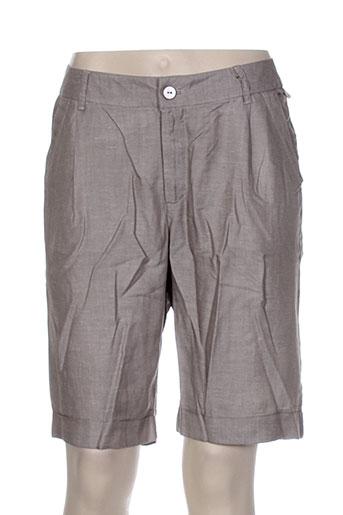 lola espeleta shorts / bermudas femme de couleur gris