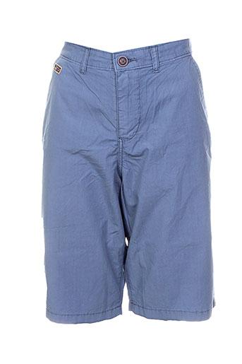 napapijri shorts / bermudas garçon de couleur bleu