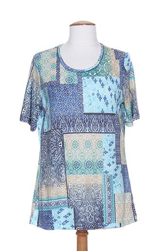 betty barclay chemises femme de couleur bleu