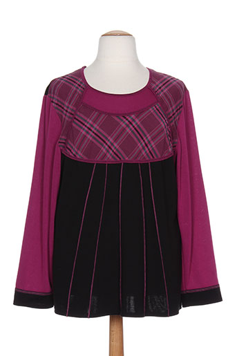 gevana t et shirts et tops femme de couleur rose